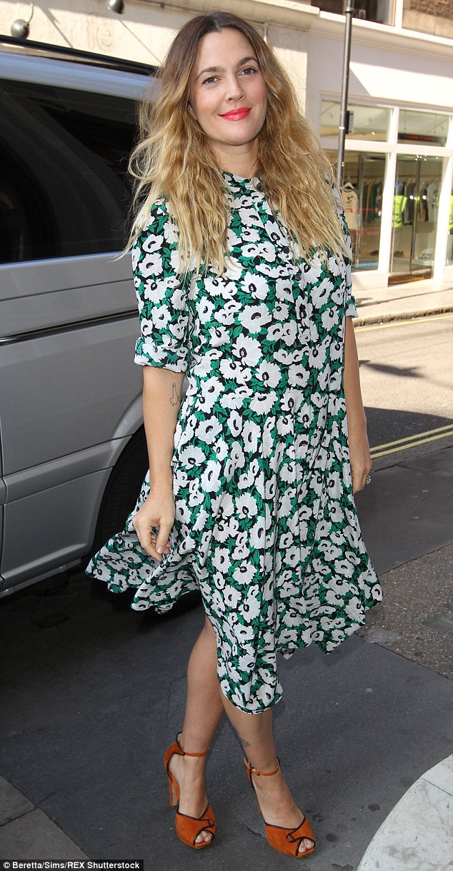 Who else dresses like you: Drew Barrymore